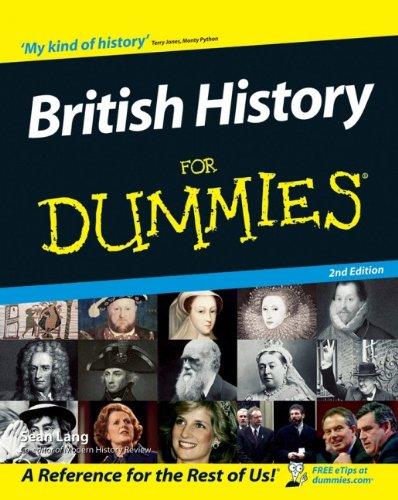 9780470035368: British History for Dummies