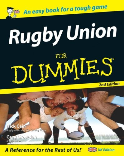9780470035375: Rugby Union for Dummies