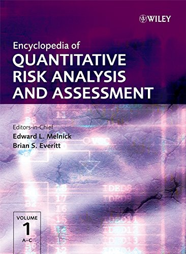 9780470035498: Encyclopedia of Quantitative Risk Analysis and Assessment