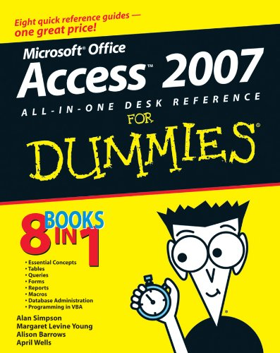 9780470036495: Access 2007 All-In-One Desk Reference for Dummies