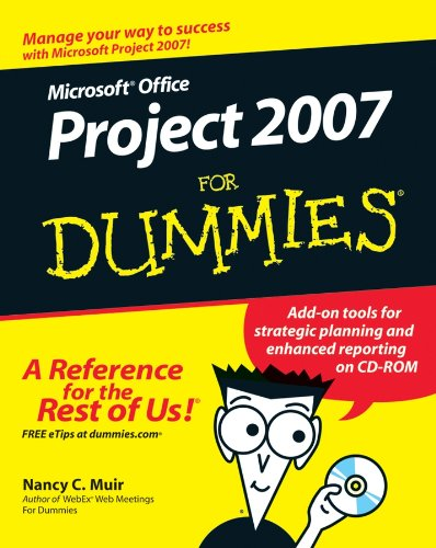 9780470036518: Microsoft Office Project 2007 for Dummies