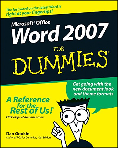 9780470036587: Word 2007 For Dummies