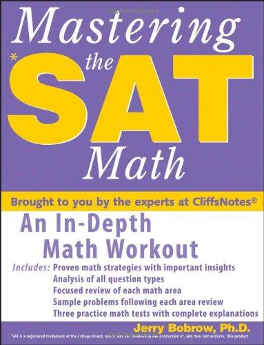9780470036600: Mastering the SAT Math