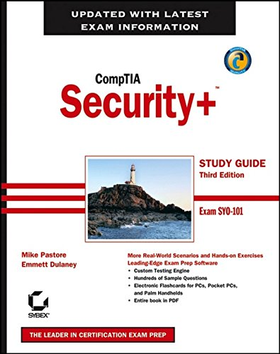 9780470036686: CompTIA Security+ Study Guide: Exam SY0-101