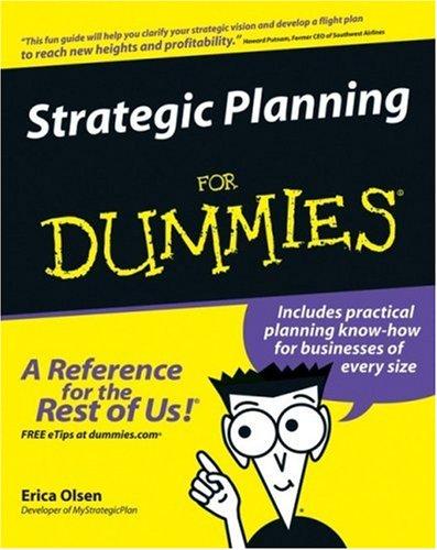 9780470037164: Strategic Planning For Dummies