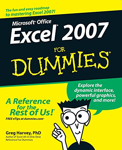 9780470037379: Microsoft Office Excel 2007 for Dummies