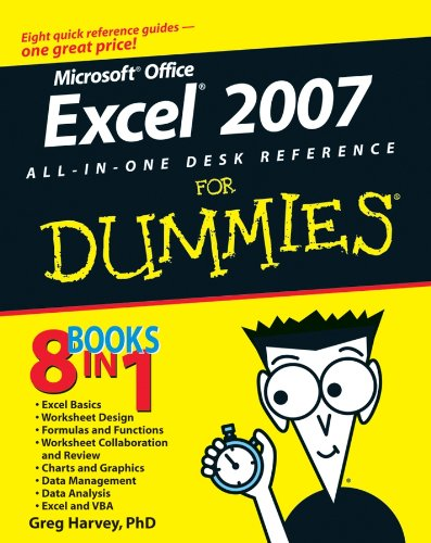 9780470037386: Excel 2007 All-In-One Desk Reference For Dummies