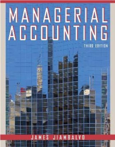 9780470038154: Managerial Accounting