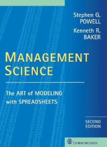 Management Science: The Art of Modeling with: Powell, Kenneth R.