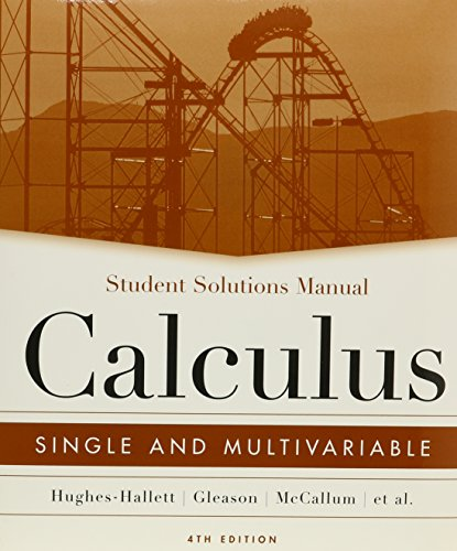 9780470039342: Calculus Single and Multivariable 4th Edition with Student Solutions Manual and ConcepTests 4th Edition Set
