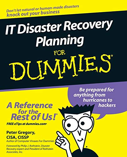 9780470039731: IT Disaster Recovery Planning for Dummies