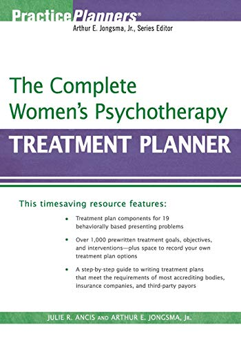 9780470039830: The Complete Women's Psychotherapy Treatment Planner