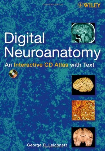 9780470040003: Digital Neuroanatomy: An Interactive CD Atlas with Text
