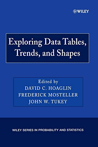 9780470040058: Exploring Data Tables P (Wiley Series in Probability and Statistics)