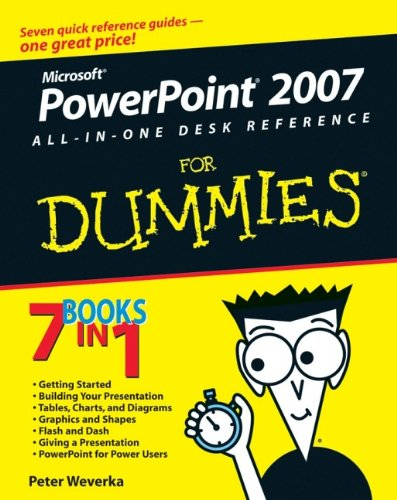 9780470040621: PowerPoint 2007 All-in-One Desk Reference For Dummies