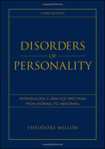 9780470040935: Disorders of Personality: Introducing a DSM / ICD Spectrum from Normal to Abnormal