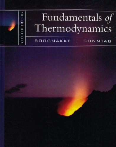 9780470041925: Fundamentals of Thermodynamics