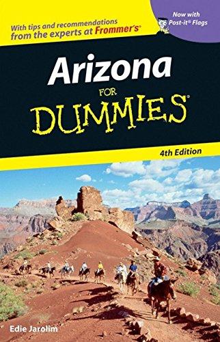 Arizona For Dummies (Dummies Travel): Jarolim, Edie