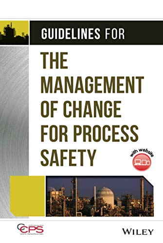 9780470043097: Guidelines for the Management of Change for Process Safety