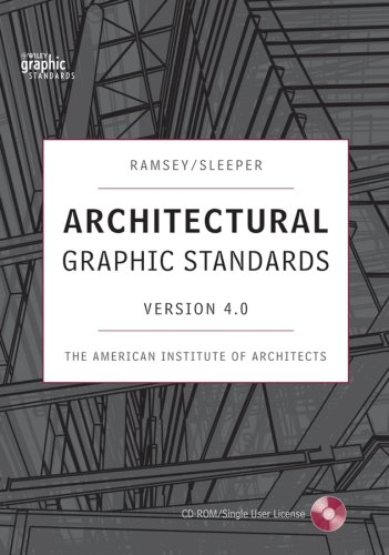 9780470043233: Architectural Graphic Standards 4.0 CD-ROM