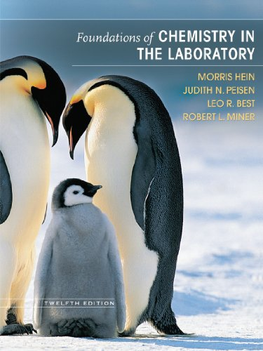 9780470043851: Foundations of Chemistry in the Laboratory