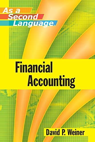 9780470043882: Financial Accounting as a Second Language