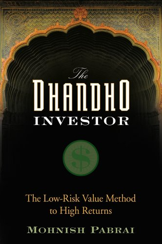 9780470043899: The Dhandho Investor: The Low–Risk Value Method to High Returns