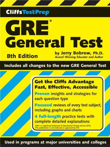 9780470043905: CliffsTestPrep GRE General Test