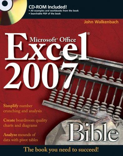 9780470044032: Excel 2007 Bible