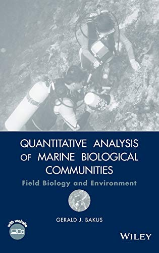 9780470044407: Quantitative Analysis of Marine Biological Communities: Field Biology and Environment