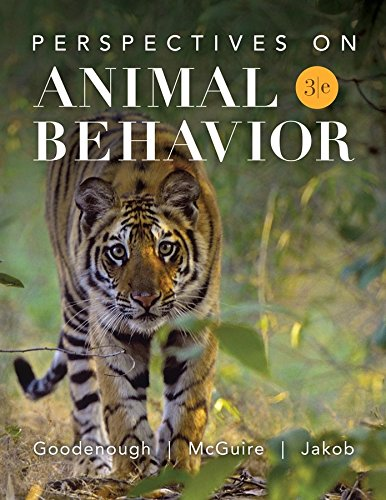 Perspectives on Animal Behavior: Goodenough, Judith