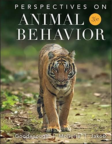 9780470045176: Perspectives on Animal Behavior