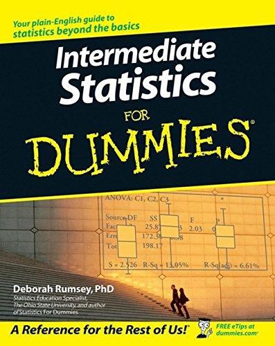 9780470045206: Intermediate Statistics for Dummies