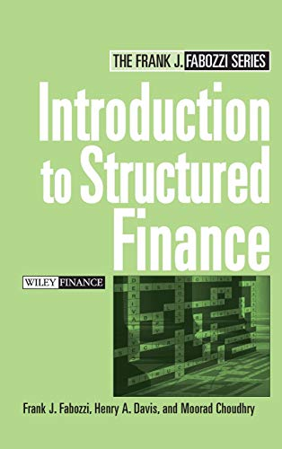 9780470045350: Introduction to Structured Finance