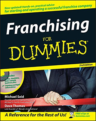 Franchising For Dummies (0470045817) by Seid, Michael; Thomas, Dave
