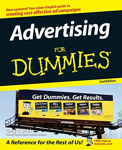 9780470045831: Advertising for Dummies 2nd Edition