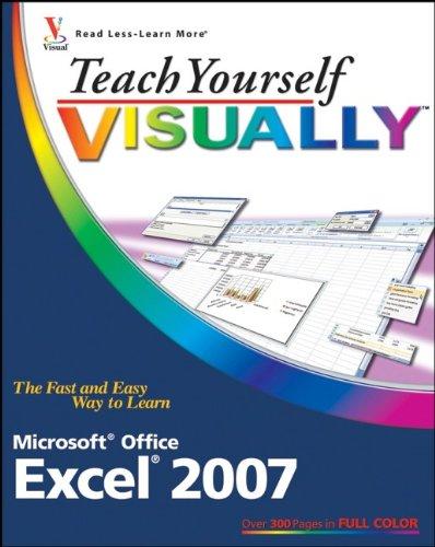 9780470045954: Teach Yourself Visually Excel 2007 (Teach Yourself Visually (Tech))