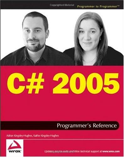 9780470046418: C# 2005 Programmer's Reference (Programmer to Programmer)