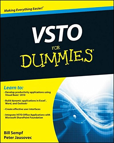 9780470046470: VSTO For Dummies