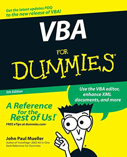 9780470046500: VBA For Dummies
