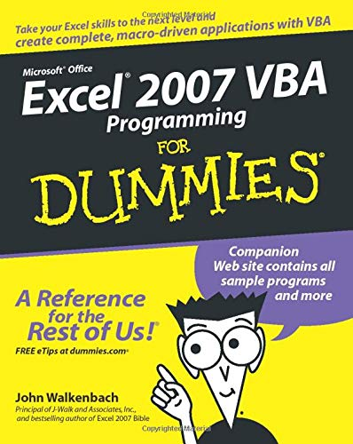 9780470046746: Excel 2007 VBA Programming For Dummies