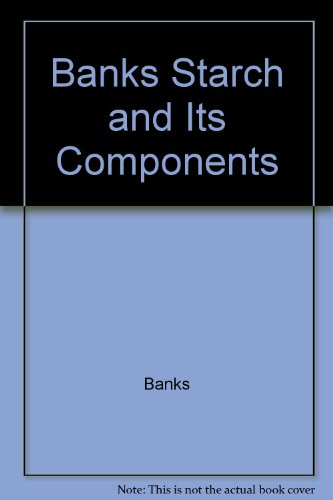 9780470047118: Banks Starch and Its Components