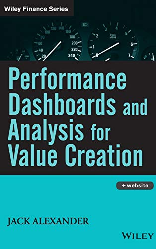 9780470047972: Performance Dashboards and Analysis for Value Creation