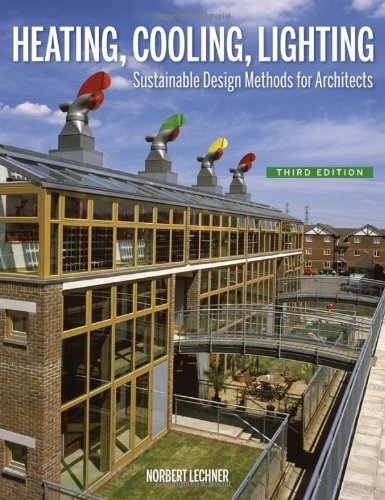 9780470048092: Heating, Cooling, Lighting: Sustainable Design Methods for Architects