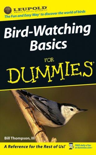 9780470048580: Bird-watching Basics for Dummies