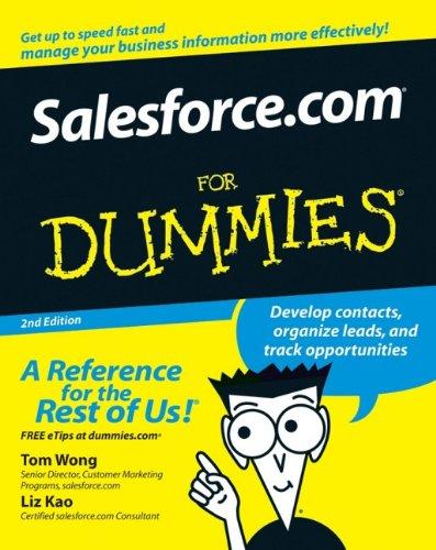 9780470048931: Salesforce.com For Dummies