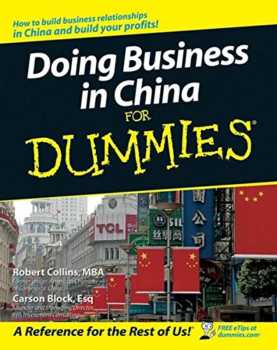 9780470049297: Doing Business in China for Dummies