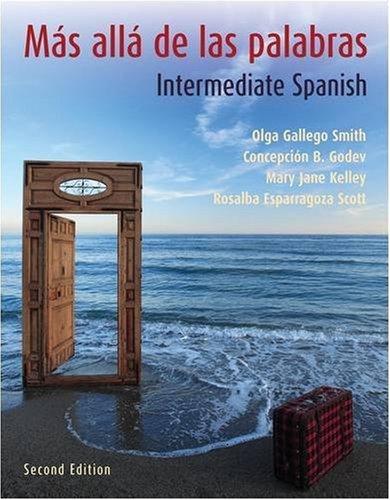 9780470049419: Más allá de las palabras: Intermediate Spanish, 2nd Edition (Book & CD)