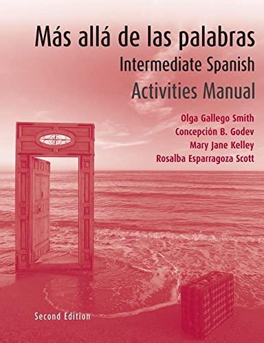 9780470049426: M?s all? de las palabras, AM: Intermediate Spanish (Spanish Edition)