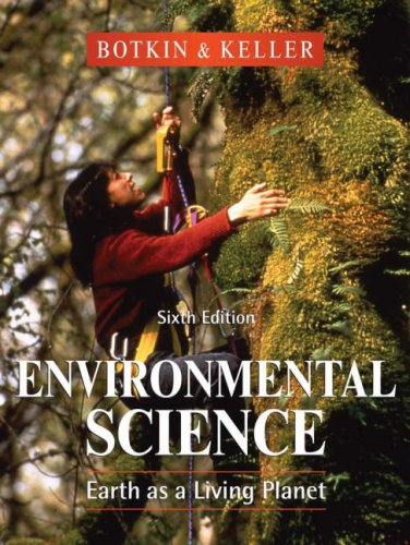 9780470049907: Environmental Science: Earth as a Living Planet, 6th Edition